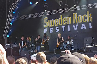 Survivor (band) - Survivor at the Sweden Rock Festival in 2013