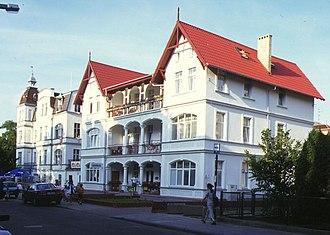 Świnoujście - Wilhelmine seaside-resort architecture in Świnoujście