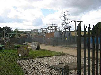 Piccotts End - Switching and transformer station Piccotts End.