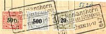 Switzerland railway stamps used ROMANSHORN 17 MAERZ 31*17.jpg