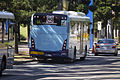 Sydney Buses (2491 ST) Custom Coaches 'CB80' bodied Scania K280UB on Olympic Boulevard at Sydney Olympic Park.jpg