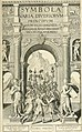 Symbola diuina and humana pontificvm, imperatorvm, regvm - accessit breuis and facilis isagoge Iac. Typotii - ex mvsaeo Octavii de Strada civis Romani - tomus primus(-tertius) (1601) (14724224976).jpg