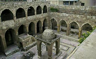 Central Synagogue of Aleppo - The synagogue in 2011