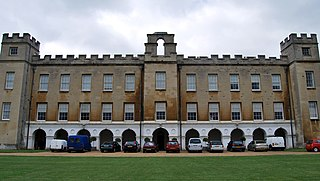 Syon House House with park in West London, England