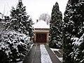 Szentes, Mariska utca 7., garázs, 2008-12-25. Az első hó - panoramio.jpg