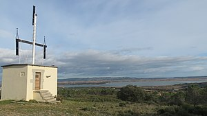 Claude Chappe - One example of Chappe telegraph tower, in Narbonne, in the south of France.