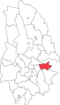 Den store Mellösa landskommune i Örebro amt