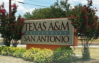 Texas A&M University System - Image: TAMU SA old