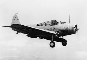 Douglas TBD Devastator - The first production TBD-1 in 1937