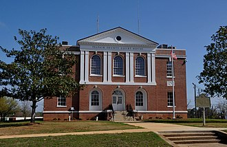 Telfair County, Georgia - Image: TELFAIR COUNTY COURTHOUSE AND JAIL