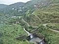 TW 台灣 Taiwan 新北市 New Taipei 瑞芳區 Ruifang District 洞頂路 Road 黃金瀑布 Golden Waterfall August 2019 SSG 27.jpg