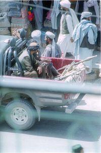 Taliban in Herat, July 2001.