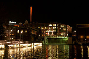 Tampere - The old Finlayson works.