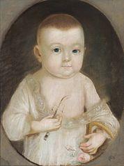 Portret Józefa Wawrzyńca Krasińskiego jako dziecka