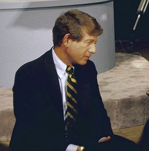 Nightline - Ted Koppel in 1982