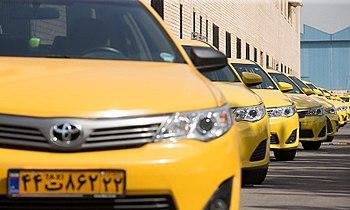 Tehran Hybrid Taxi 01