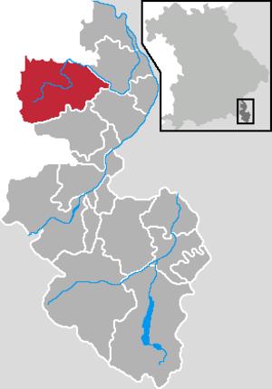 Teisendorf - Image: Teisendorf in BGL