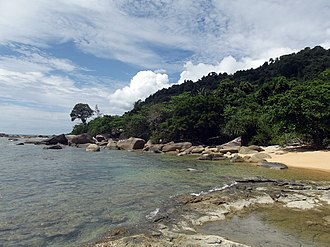 West Kalimantan - Image: Temajuk Beach, Paloh District Sambas Regency, West Borneo panoramio (3)