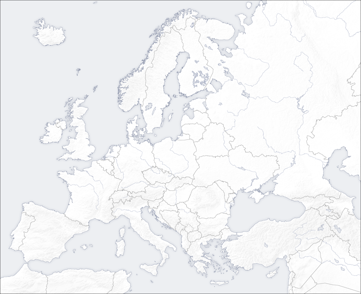 Picture of: File Template Europe Map Png Wikimedia Commons