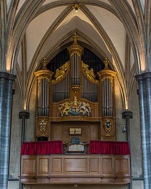 Interstellar (soundtrack) - Temple Church pipe organ