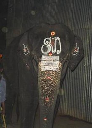 Temple elephant - Image: Temple elephant 2