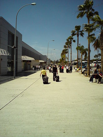 Tenerife South Airport - Exterior of airport