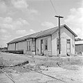 Texas and New Orleans, Southern Pacific Railroad Station, Stockdale, Texas (21523744699).jpg
