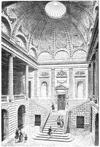 Grand Théâtre de Bordeaux - Image: Théâtre de Bordeaux vue du grand escalier Marionneau 1881 Google Books