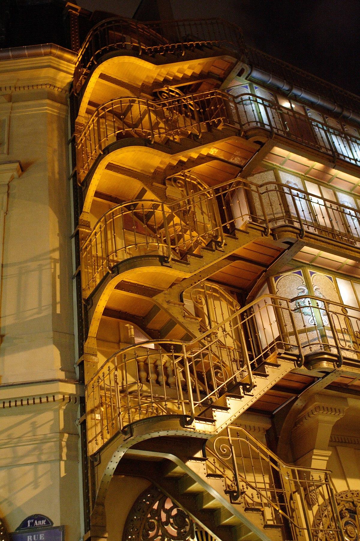 Rampe D Escalier Traduction Anglais escalier — wiktionnaire