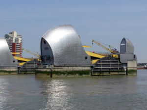 Environment Agency - The Thames Barrier is one of the flood risk management installations operated by the Environment Agency