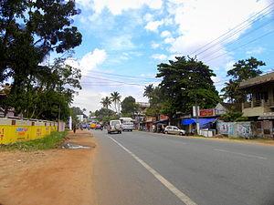Thattamala - National Highway-66 at Thattamala