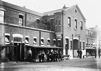 Regent's Park Barracks - The barracks in 1904