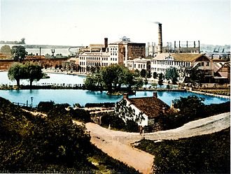 Dartford - The Chemical Works at Dartford c. 1896