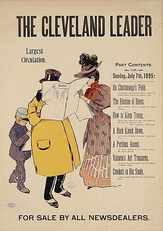 The Cleveland Leader - Newspaper