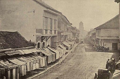 The Escolta - The Broadway of Manila (1899)