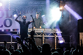 The Flexican & Mc Fit tijdens Emmen Open Air (2013)