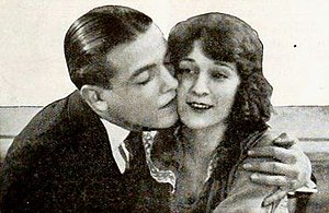 The Girl Who Stayed at Home - Richard Barthelmess and Carol Dempster in the film