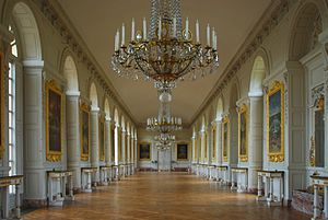 Grand Trianon - The Grand Trianon Castle Interior