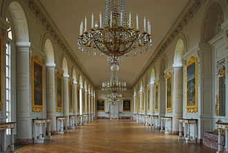 Grand Trianon - The Grand Trianon château interior