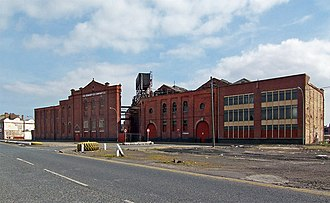 Grimsby Ice Factory - The Grimsby Ice Factory in Grimsby, England was built in 1900