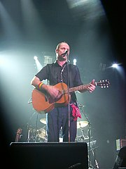 Singer Gordon Downie performing in 2003