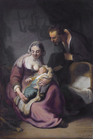 The Holy Family by Rembrandt Harmenszoon van Rijn.jpg