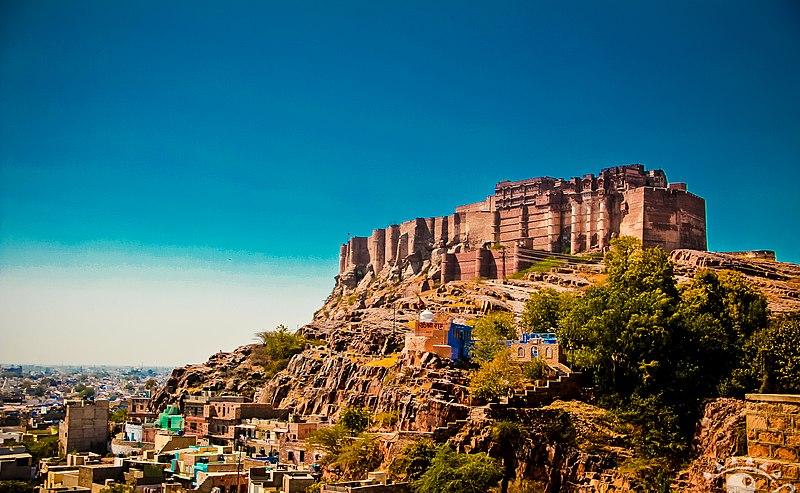 File:The Mehrangarh fort.jpg