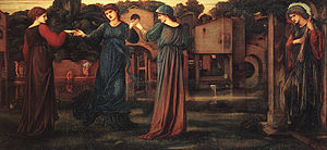 The Mill (Burne-Jones painting) - Image: The Mill by Edward Burne Jones