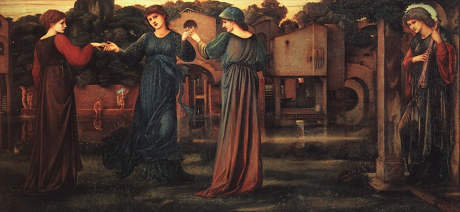 The Mill by Edward Burne-Jones