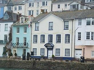 The Coroner - Image: The Old Custom House Bayards Cove Dartmouth Devon