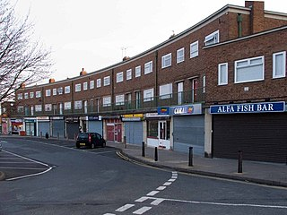 Donnington, Telford Human settlement in England