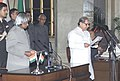 The President Dr.A.P.J.Abdul Kalam administering the Oath (Cabinet Minister) to Shri A.R.Antulay, in New Delhi on January 29,2006.jpg