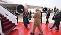 The Prime Minister, Shri Narendra Modi emplanes for Abu Dhabi from Amman, Jordan on February 10, 2018 (1).jpg