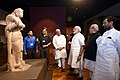 The Prime Minister, Shri Narendra Modi visiting the Bihar Museum, in Patna (4).jpg
